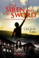 Cover for 'Magic University Book One: The Siren and the Sword'