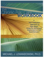 Cover for 'The Chronic Pain Care Workbook'