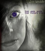 Cover for 'The Girl with the Violet Eyes'