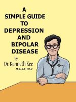 Cover for 'A Simple Guide to Depression and Bipolar Disease'
