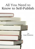 Cover for 'All You Need to Know to Self-Publish'