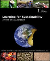 Cover for 'Learning for Sustainability'