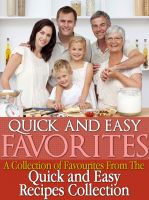 Cover for 'Quick and Easy Recipes Favourites'