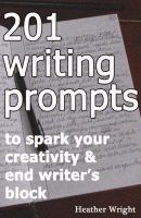 Cover for '201 Writing Prompts'