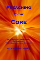 Cover for 'Preaching to the Core'
