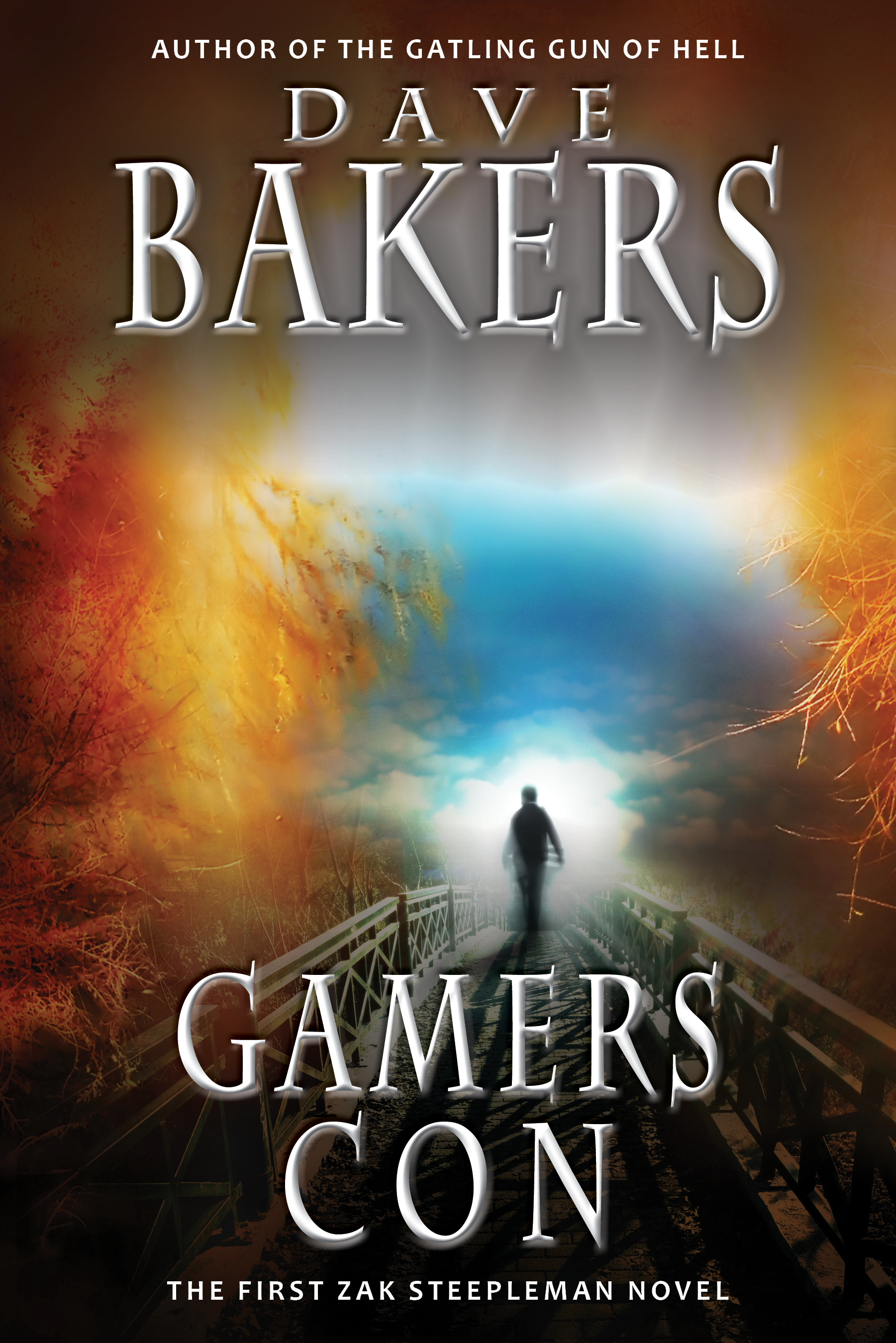 Gamers Con: The First Zak Steepleman Novel, By Dave Bakers, Free