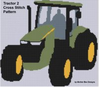Cover for 'Tractor 2 Cross Stitch Pattern'