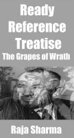Cover for 'Ready Reference Treatise: The Grapes of Wrath'