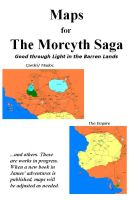 Cover for 'Maps for The Morcyth Saga'