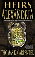 Cover for 'Heirs of Alexandria (Alexandrian Saga #2)'
