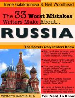Cover for 'The 33 Worst Mistakes Writers Make About Russia'