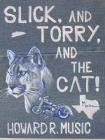 Cover for 'Slick and Torry and the Cat'