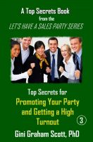 Cover for 'Top Secrets for Promoting Your Party and Getting a High Turnout'