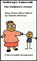 SilverTonalities Sheet Music Services - Golliwog's Cake Walk Children's Corner Easy Piano Sheet Music