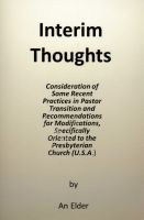 Cover for 'Interim Thoughts'