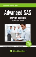 Cover for 'Advanced SAS Interview Questions You'll Most Likely Be Asked'