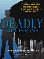 Cover for 'Deadly Decisions'