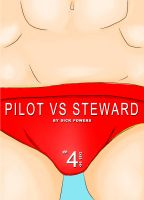 Cover for 'Hard Gay XXX #4: Pilot VS Steward (Erotic One-Shot)'
