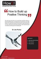 Cover for 'How to Build up to Positive Thinking'