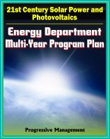 Cover for '21st Century Solar Power and Photovoltaics: Energy Department Multi-year Program Plan through 2012 for Solar Development and Research, Systems, Materials, CSP Technologies'
