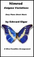 SilverTonalities Sheet Music Services - Nimrod Enigma Variations Easy Piano Sheet Music