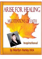 Cover for 'Arise For Healing'
