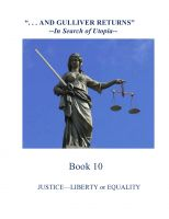 Cover for 'Justice--Liberty or Equality'