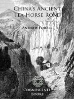 Cover for 'China's Ancient Tea Horse Road'