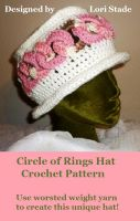 Cover for 'Circle of Rings Hat Crochet Pattern'