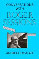 Cover for 'Conversations with Roger Sessions'