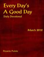 Cover for 'Every Day's A Good Day March 2012'