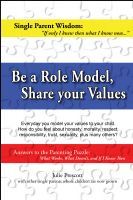 Cover for 'Be a Role Model, Share your Values'