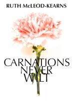 Cover for 'Carnations Never Wilt'