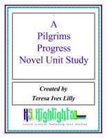 Cover for 'A Pilgrim's Progress Novel Unit Study'