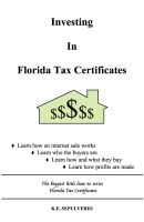 Cover for 'Investing in Florida Tax Certificates'