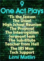 Cover for '9 One-Act Plays'