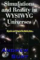 Cover for 'Simulations and Reality in WYSIWYG Universes'