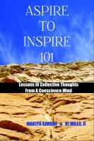 Cover for 'Aspire To Inspire 101'