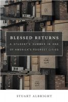 Cover for 'Blessed Returns'