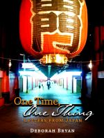 Cover for 'One Time, One Thing: Letters from Japan'