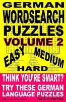 Cover for 'German Word Search Puzzles. Volume 2.'