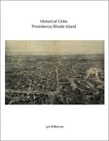 Cover for 'Historical Cities-Providence, Rhode Island'