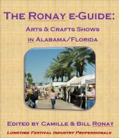 Cover for 'The Ronay e-Guide: Arts & Crafts Shows in Alabama/Florida'