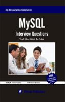 Cover for 'MySQL Interview Questions You'll Most Likely Be Asked'