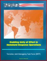 Cover for 'Enabling Unity of Effort in Homeland Response Operations - Terrorism, Joint Interagency Task Force (JIATF)'