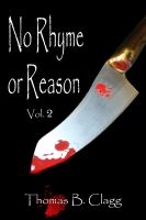 Cover for 'No Rhyme or Reason, Volume Two'