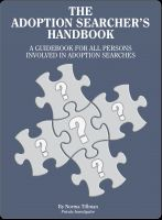 Cover for 'The Adoption Searcher's Handbook'