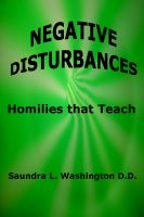 Cover for 'Negative Disturbances'