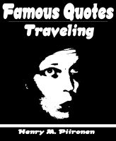Cover for 'Famous Quotes on Traveling'