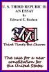 U. S. Third Republic II: An Essay by Edward E. Rochon